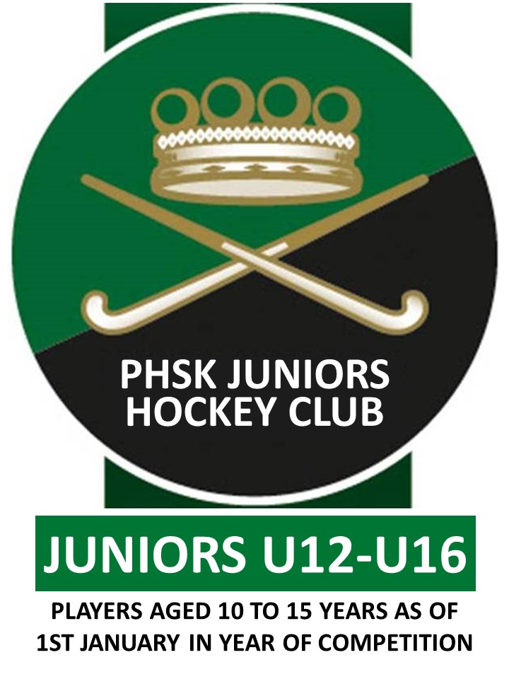JUNIOR'S U12 to U16 MEMBERSHIP 2020