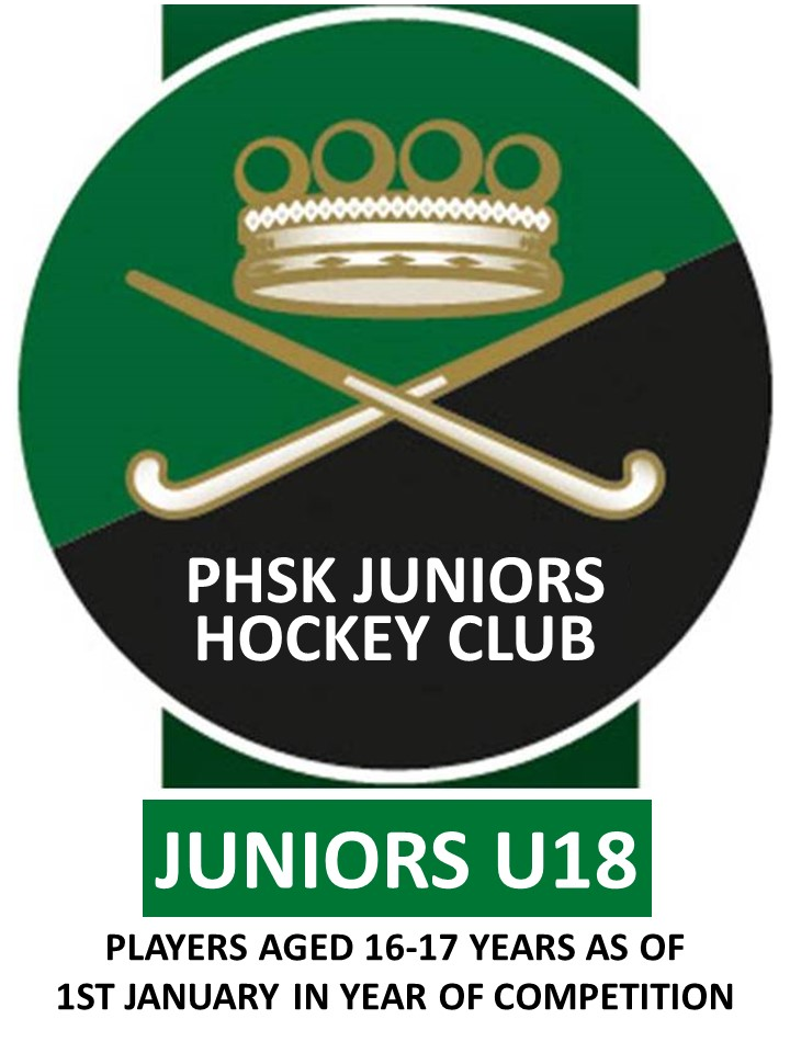JUNIOR'S U18 MEMBERSHIP 2020